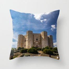 Castel del Monte Throw Pillow