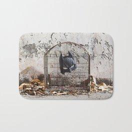 Caged bird Bath Mat