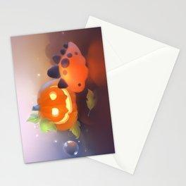 Pumpkin Dino Stationery Cards