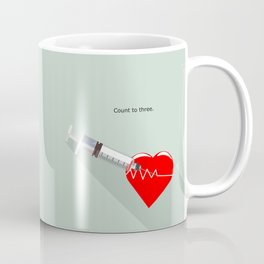 Shot to the heart - Pulp fiction Overdose Needle Scene needle for injection  Coffee Mug