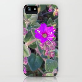 Wildflower Bush iPhone Case