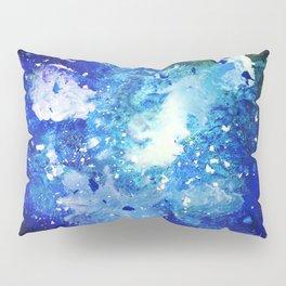 Melted Crayon Galaxy Pillow Sham