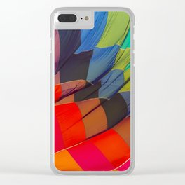 Brighten up and away your day Clear iPhone Case