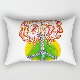 Peace Tree Rectangular Pillow