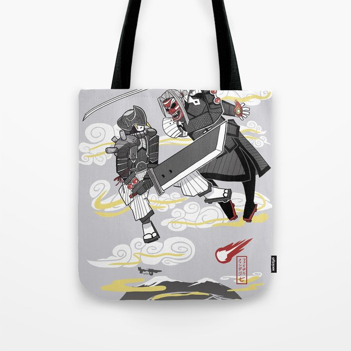 Final Samurai VII Tote Bag