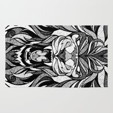 Angry Lion - Drawing Rug