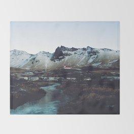 Iceland // Vik Throw Blanket