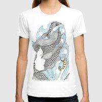 mermaids T-shirts featuring mermaids 5 by winnie patterson