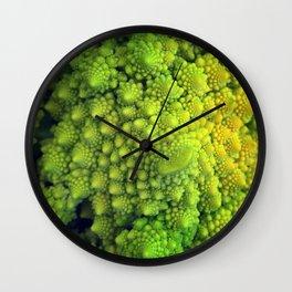 Living Fractals Wall Clock