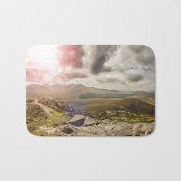 Ireland Mountain Landscape Panorama Bath Mat