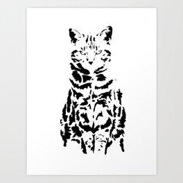 Lucy Cat Art Print