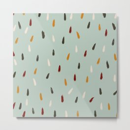 Inkanyamba - Colorful Decorative Abstract Art Pattern Metal Print