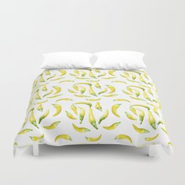 Chilli Pepers Pattern Motif Duvet Cover