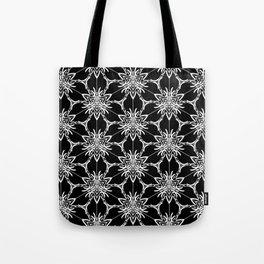 Floral geometric Tote Bag