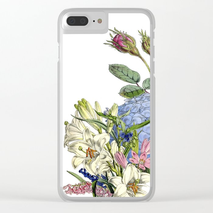 BLOOM Clear iPhone Case