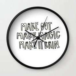 Make stuff Wall Clock