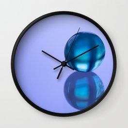 Esfera Azul - Blue Sphere Wall Clock