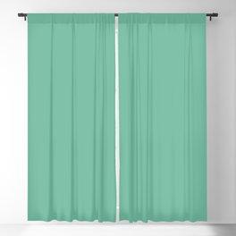 Dunn & Edwards 2019 Curated Colors Arboretum (Dark Mint Green) DE5690 Solid Color Blackout Curtain