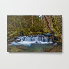 Cascada Valul Miresei, Romania Metal Print
