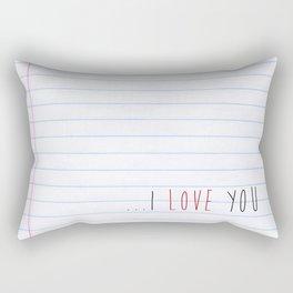 ...I Love you Rectangular Pillow