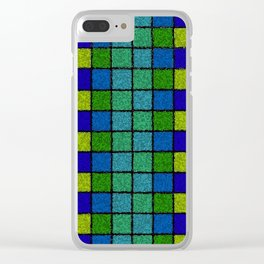 Sponged Chex Clear iPhone Case