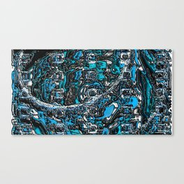 plastic wax factory 15 - Rusalka Canvas Print