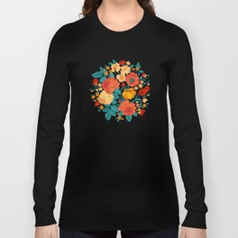 Vintage flower garden Long Sleeve T-shirt