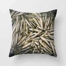 Fish Tide Throw Pillow