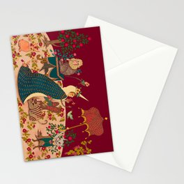 "The Lady is the Unicorn ""Desire""  Stationery Cards"