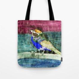 Bunter Vogel Tote Bag