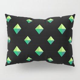 Emerald Diamonds Pillow Sham