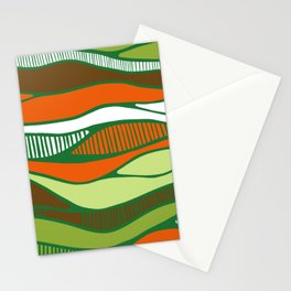 Bird's view- vue d'oiseau Stationery Cards