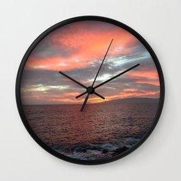 Cielo di fuoco. Wall Clock