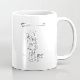NASA Space Suit Patent Coffee Mug