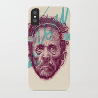 tom selleck iPhone & iPod Cases featuring Tom Zé by Arthur d'Araujo