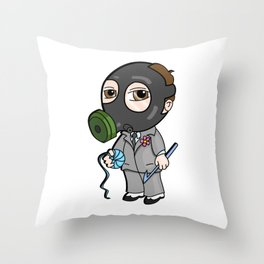 Lil Mysterioso Throw Pillow
