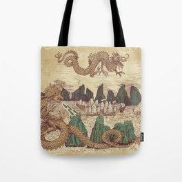 The Halong Bay Creation Myth Tote Bag