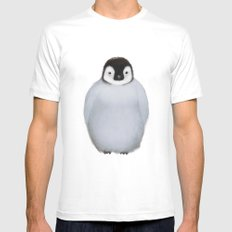 Little Penguin MEDIUM Mens Fitted Tee White
