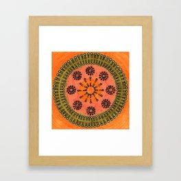 Vesicle Mandala 02 Framed Art Print