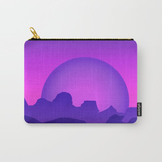 Night Landscape Carry-All Pouch