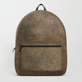 Old brown cracked background Backpack