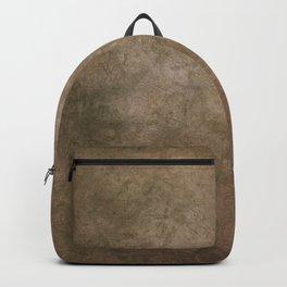Old brown cracked background Backpack