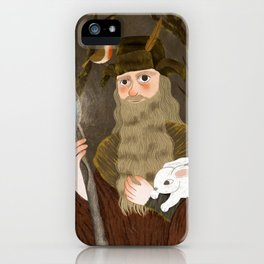 the brown wizard iPhone Case