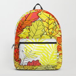 Gold autumn. Backpack
