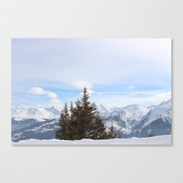 Wunderfull Snow Mountain(s) 4 Canvas Print