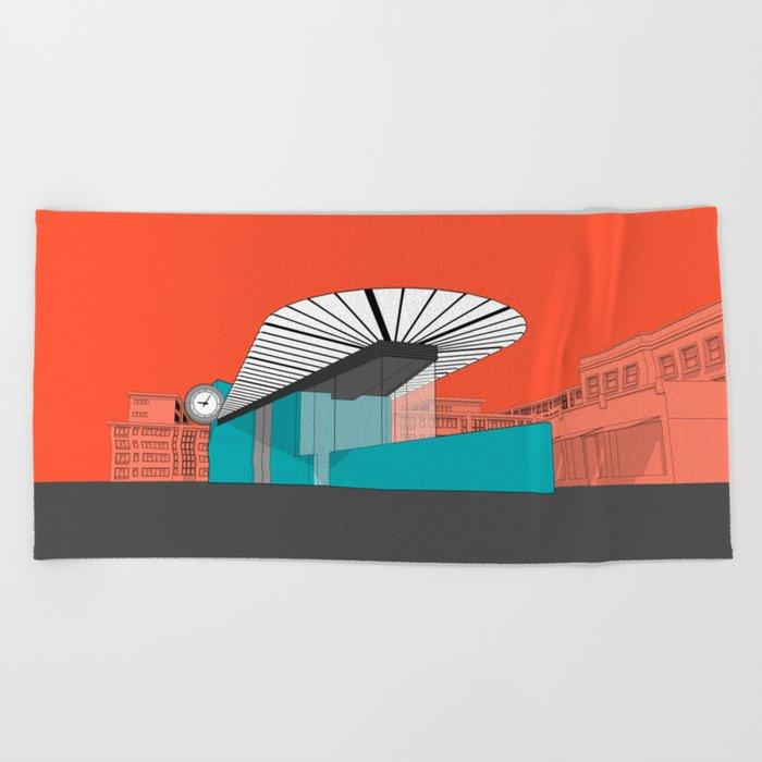 Turquoise Island Beach Towel
