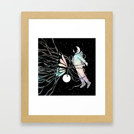 Caught in the Moment (A Memory Encounter) Framed Art Print