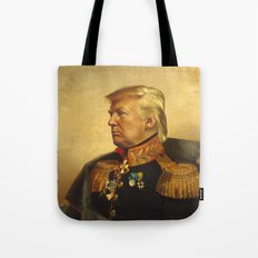 Donald Trump - replaceface Tote Bag