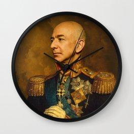 Jeff Bezos Classical Regal General Painting Wall Clock