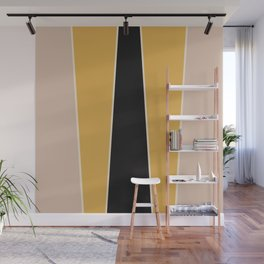 Honey Bee Color Block Wall Mural
